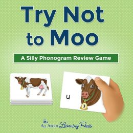 For a great way to practice letter sounds, grab this Try Not to Moo! FREE Phonogram Game! #fhdhomeschoolers #freehomeschooldeals #phonics #phonicsgames #hsmoms
