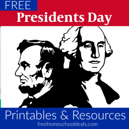FREE 2020 Presidents' Day Printables & Resources!
