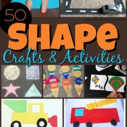 Crafts and Activities to Practice Shape.