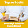 For life-changing, heart-warming, and inspiring books for your young adult, check out the Top 20 Books Your High Schooler Should Read! #fhdhomeschoolers #freehomeschooldeals #highschoolers #literature #homeschoolreading #hsdays
