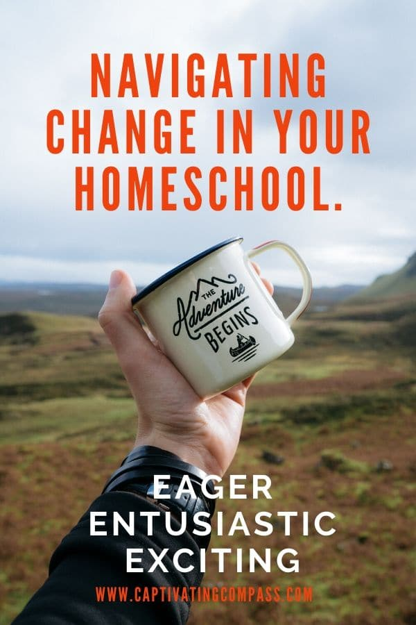 Make transitions and changes go smoothly with these 3 Must-Haves For Navigating Change In Your Homeschool! #fhdhomeschoolers #freehomeschooldeals #homeschooling #hsmoms #homeschoolhelp