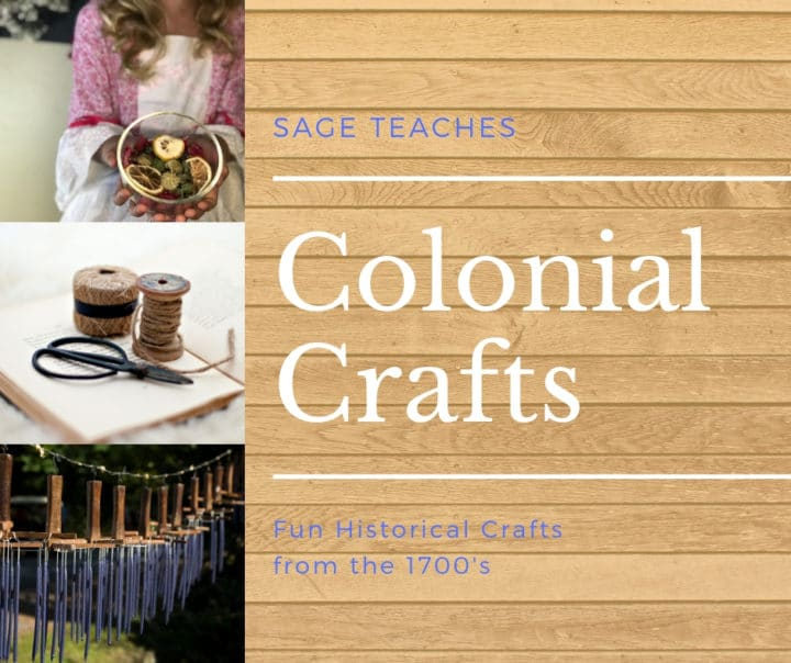 For unique history lessons, check out this FREE Web Series on Colonial Crafts! #fhdhomeschoolers #freehomeschooldeals #history #colonialcrafts #hsdays