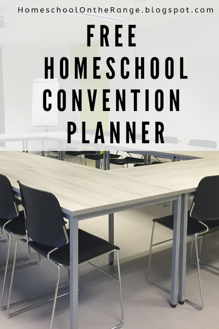 Be prepared for convention season, get this FREE 20-Page Homeschool Convention Planner! #fhdhomeschoolers #freehomeschooldeals #homeschooling #hsconvention #hsmoms