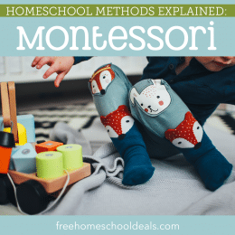 Is the Montessori method right for you? Check out Homeschool Methods Explained: Montessori! #fhdhomeschoolers #freehomeschooldeals #montessori #teachingstyles #homeschooling