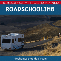Mix education and adventure and check out Homeschool Methods Explained: Roadschooling! #fhdhomeschoolers #freehomeschooldeals #roadschooling #hsmoms #hsideas