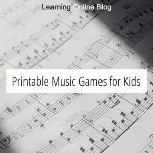 FREE Music Game Printables. #fhdhomeschoolers #freehomeschooldeals #musicprintables #musicgames #musicalconcepts