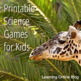 List of Printable Science Kid Games. #freehomeschooldeals #fhdhomeschoolers #sciencekidgames