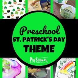 St. Patrick's Day Themed Preschool Activities. #freehomeschooldeals #fhdhomeschoolers #preschoolactivities #stpatricksdayactvivities