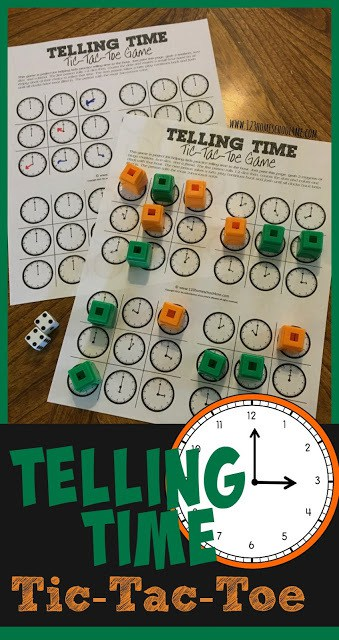 FREE Telling Time Games. #freehomeschooldeals #fhdhomeschoolers #tellingtimegames #telltime