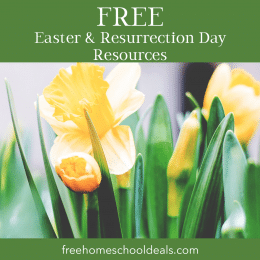 FREE Easter and Resurrection Day Resources!