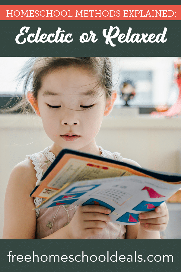 Want the best of all worlds at your homeschool? Check out Homeschool Methods Explained: Eclectic or Relaxed! #fhdhomeschoolers #freehomeschooldeals #eclectichomeschool #relaxedhomeschool #hsmoms