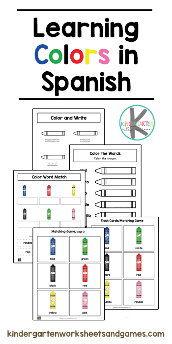 Learn the Colors in Spanish.  #teachspanish #spanishcolors #Teachingcolors #freehomeschooldeals #fhdhomeschoolers