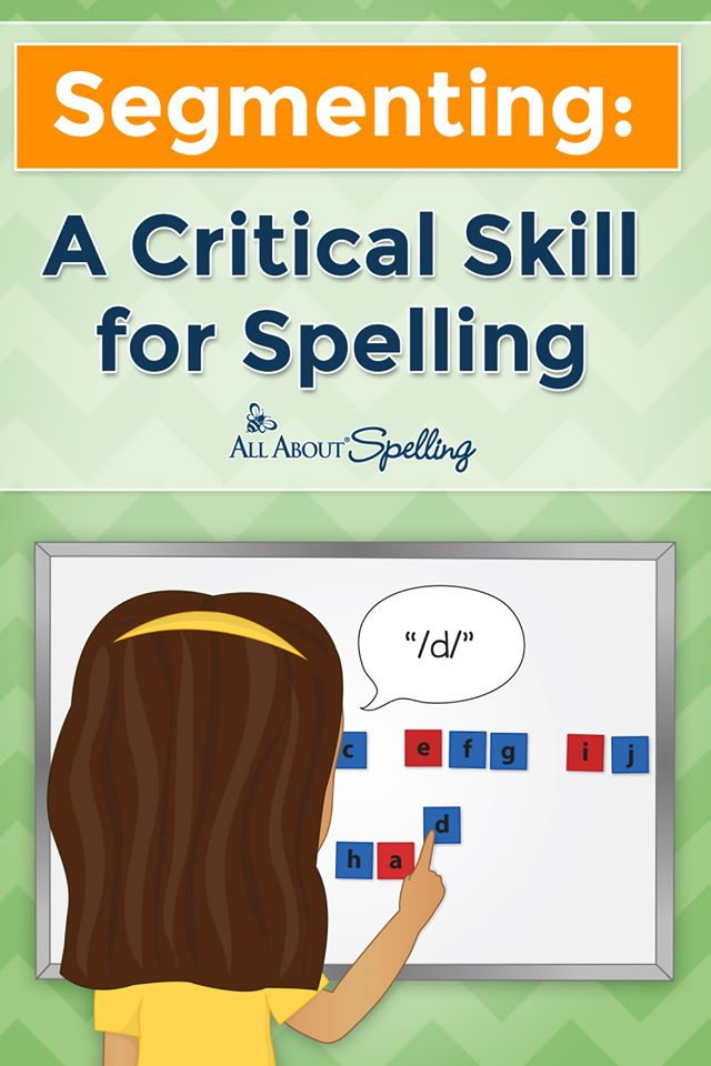 For great tips on spelling instructiong, check out Segmenting: A Critical Spelling Skill! #fhdhomeschoolers #freehomeschooldeals #spellinginstruction #hsmoms #spellinghelp