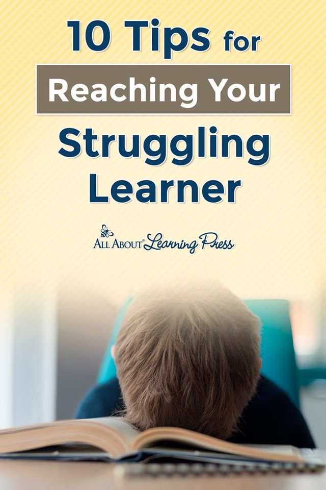 If you need help building lessons for your child, check out these 10 Tips for Reaching Your Struggling Learner! #fhdhomeschoolers #freehomeschooldeals #allaboutlearning #lessonwriting #specialeducation