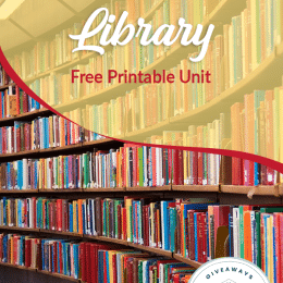 FREE Trip to the Library Printable Pack