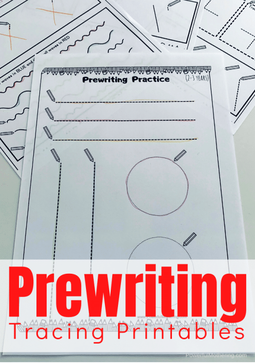 FREE prewriting tracing pages. #freehomeschooldeals #fhdhomeschoolers #prewritingprintables #prewritingtracingpages #tracingpages
