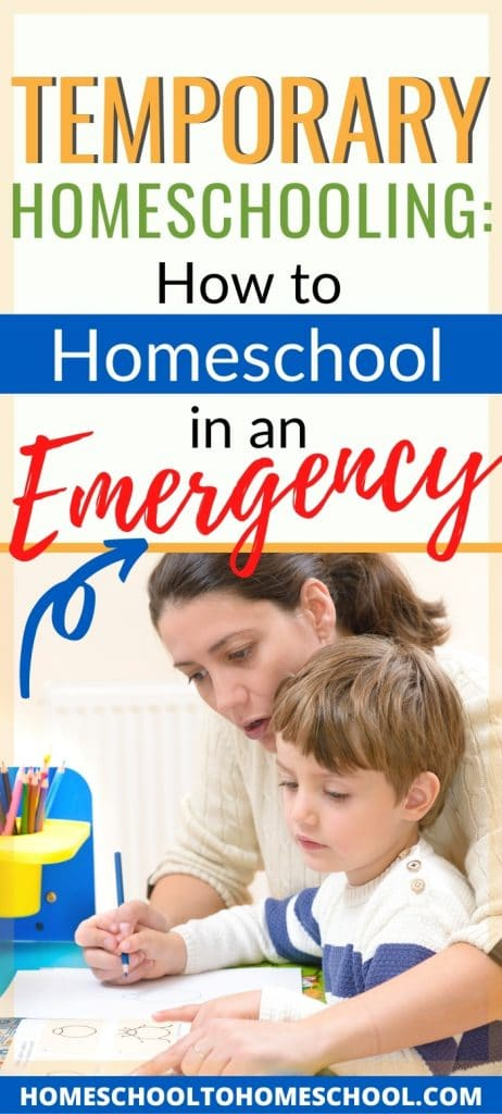 FREE School-at-Home Survival Guide.  #freehomeschooldeals #fhdhomeschoolers #temporaryhomeschooling #emergencyhomeschooling #sschoolathomesurvivalguide