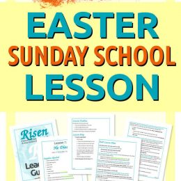 Easter Sunday FREE Kids Lesson. #fhdhomeschoolers #freehomeschooldeals #eastersundaylesson #kidseasterlesson