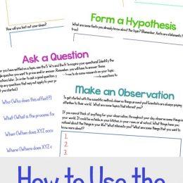 FREE Scientific Method Printable Pack. #fhdhomeschoolers #freehomeschooldeals #scientificmethod #criticalthinking