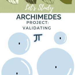 March 14th is coming up! Celebrate Pi Day (π): Archimedes Project and More! #fhdhomeschoolers #freehomeschooldeals #piday #hsmath #homeschoolingrocks