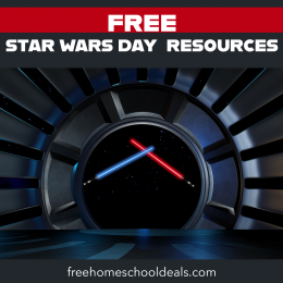 Just in time for May 4th, grab these FREE Star Wars Day Resources (Printables, Snacks, & Crafts, etc.)! #fhdhomeschoolers #freehomeschooldeals #starwarsday #may4th #hsmoms