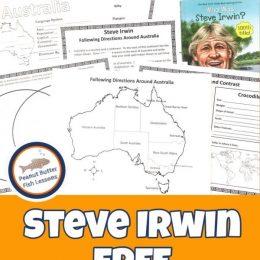 FREE Steve Irwin unit study. #fhdhomeschoolers #freehomeschooldeals #SteveIrwinunitstudy #unitstudyonSteveIrwin