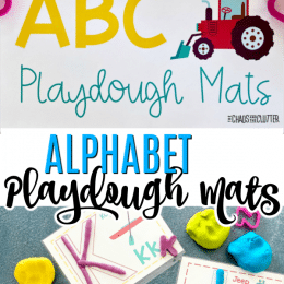 FREE Transportation ABC Playdough Mats. #transportationABCmats #playdoughmats #alphabetmats #freehomeschooldeals #fhdhomeschoolers