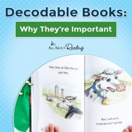 Build on your child's phonics skills and read Decodable Books: Why They're Important! #fhdhomeschoolers #freehomeschooldeals #allaboutlearning #decodablebooks #phonics #hsmoms