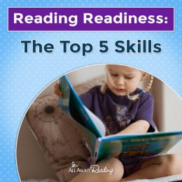 Develop your child's pre-reading and read Reading Readiness: The Top 5 Skills! #fhdhomeschoolers #freehomeschooldeals #readingreadiness #allaboutlearning #hsmoms