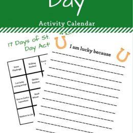Hands-on activities on St. Patrick's Day. #freehomeschooldeals #fhdhomeschoolers #handsonactivities #stpatricksdayactivities