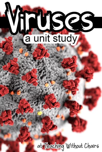 FREE Virus Unit Study (Limited Time). #freehomeschooldeals #fhdhomeschoolers #virusunitstudy #lessonsonvirus #allaboutvirusesforkids #whatisavirus