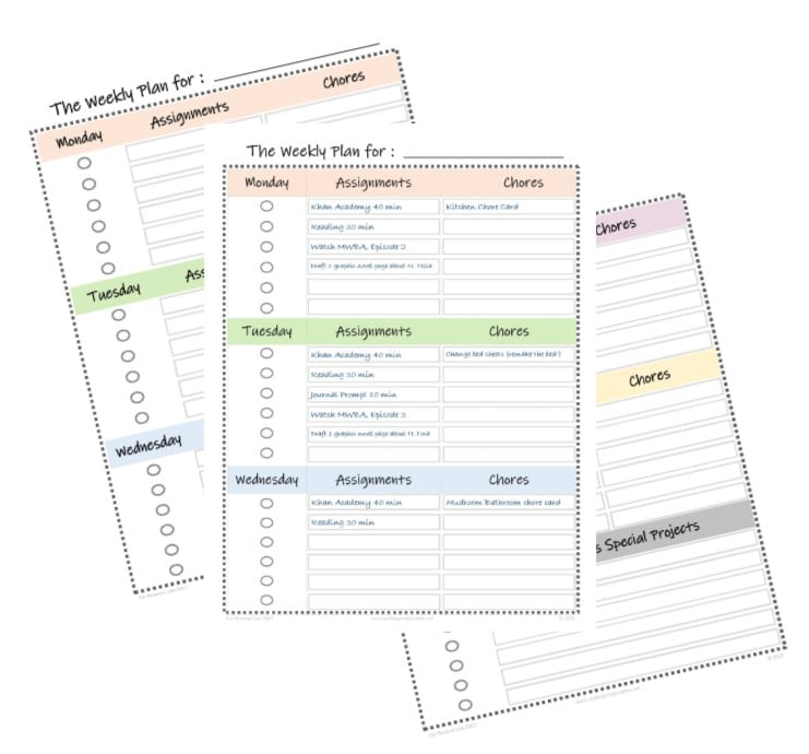 If you've been thrown into homeschooling during this time, you'll love this FREE Daily Learning Routine for Non-Homeschooling Moms + Printables! #fhdhomeschoolers #freehomeschooldeals #hsplanning #hsmoms #homeschooling