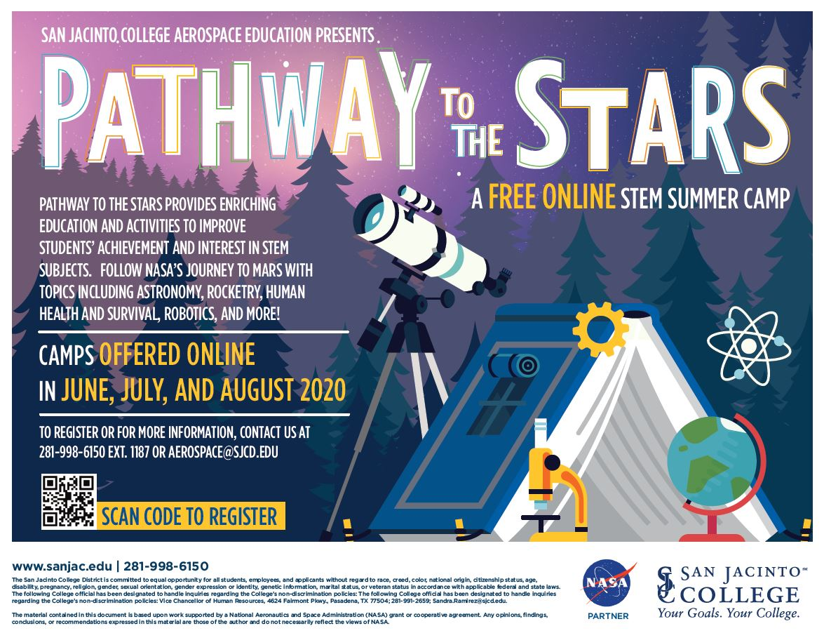 This summer, your child can explore the topic of space with this FREE STEM Summer Cyber Camp! #fhdhomeschoolers #freehomeschooldeals #stem #cybercamp #hsmoms