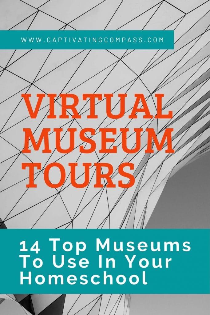 Explore the world of museums with these 14 FREE Virtual Museums For Your Homeschool! #fhdhomeschoolers #freehomeschooldeals #virtualtours #onlinelearning #hsideas