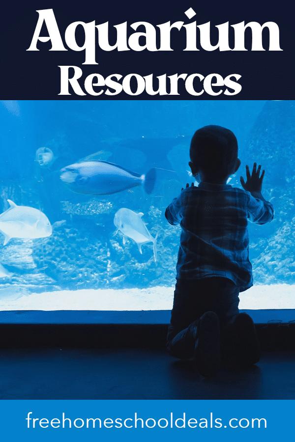 Celebrate aquarium month this June with these FREE Aquarium Month Resources, Printables, Visit Tips, & More! #fhdhomeschoolers #freehomeschooldeals #nationalaquariummonth #hsmoms #science