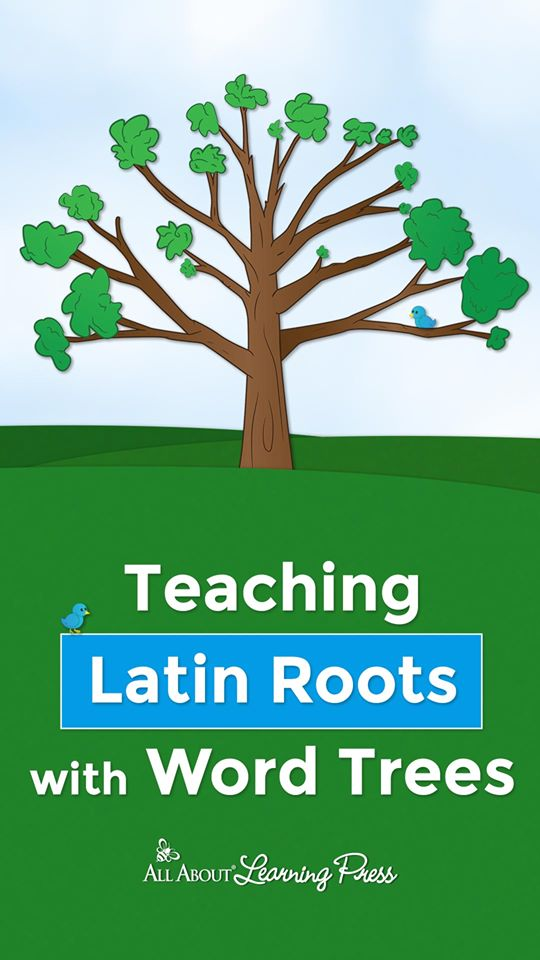 Build your child's word knowledge with and Teach Latin Roots with Word Trees! #fhdhomeschoolers #freehomeschooldeals #latinroots #hsdays #wordtrees