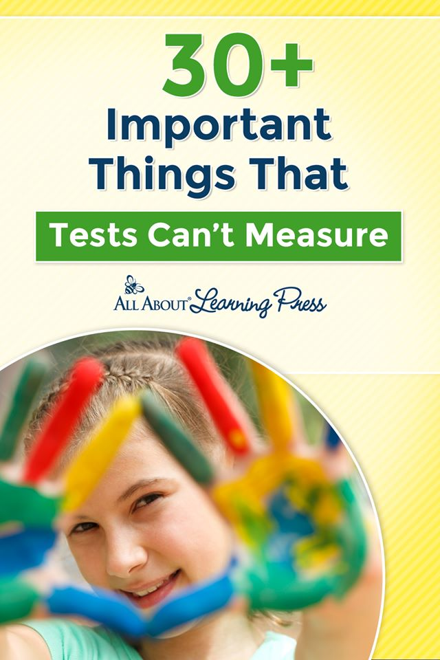 Don't let test scores breed discouragement! Check out 30+ Important Things Tests Can't Measure + Free Poster! #fhdhomeschoolers #freehomeschooldeals #hsmoms #hsdays #homeschoolencouragement