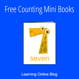 Counting Mini Books (FREE). #freehomeschooldeals #fhdhomeschoolers #countingminibooks #countingpractice #countingprintables