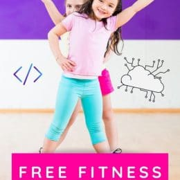 FREE family Fitness Coding Card game. #freehomeschooldeals #fhdhomeschoolers #familyfitnessgame @codingcardgame #fitnesscodinggame