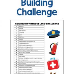 FREE STEM Community Heroes Lego Challenge. #freehomeschooldeals #fhdhomeschoolers #STEMheoroeschallenge #STEMLEGOchallenge #heroeslegochallenge