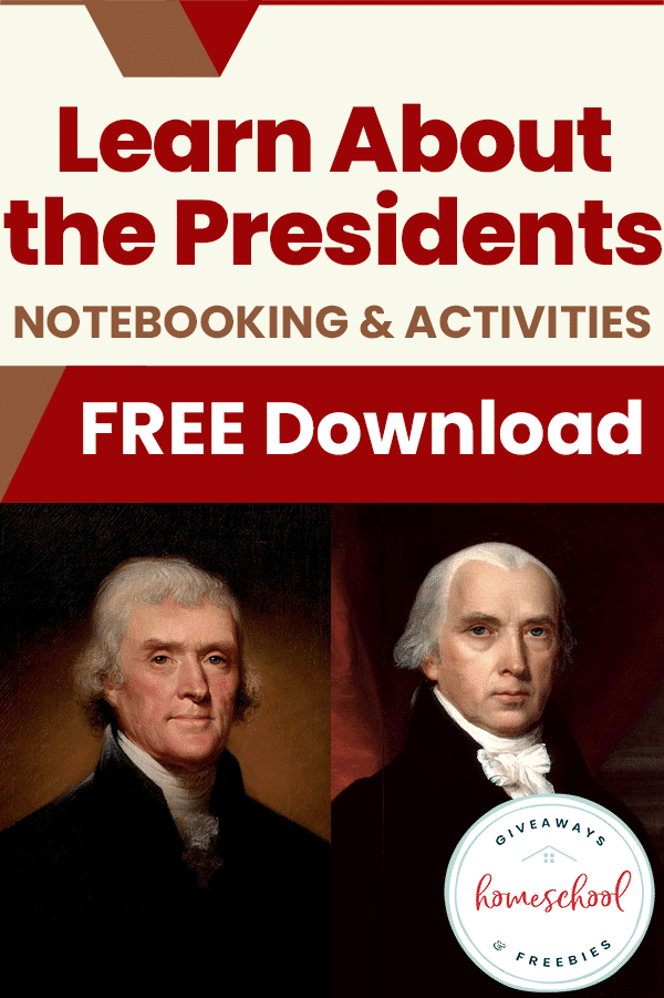 FREE Notebooking & Activities on U.S. Presidents. #freehomeschooldeals #fhdhomeschoolers #notebookingpresidents #presidentactivities #USpresidentsresource