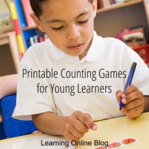 FREE Counting Games for Young Learners. #freehomeschooldeals #fhdhomeschoolers #countinggames #countingprintables #teachcounting