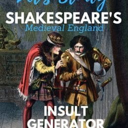 Study the Bard's insults and so much more with these FREE & Fun Shakespeare Resources for Your Homeschool! #fhdhomeschoolers #freehomeschooldeals #shakespeare #shakespeareaninsults #hsenglish