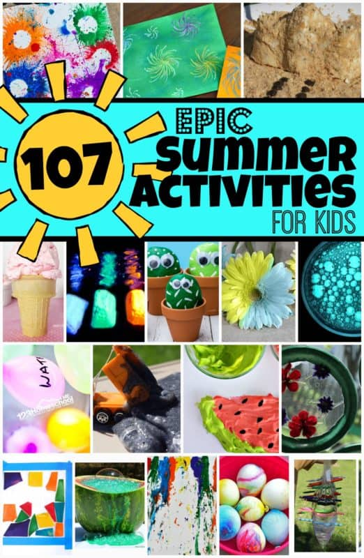 100+ Awesome Summer Kid Activities. #freehomeschooldeals #fhdhomeschoolers #summerkidactivities #summeractivitiesforkids