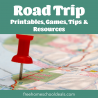 Take a Road Trip Day is coming up on June 19! Celebrate with these FREE Road Trip Printables, Games, Tips, & Resources! #fhdhomeschoolers #freehomeschooldeals #roadtripday #familyroadtrips #hsmoms