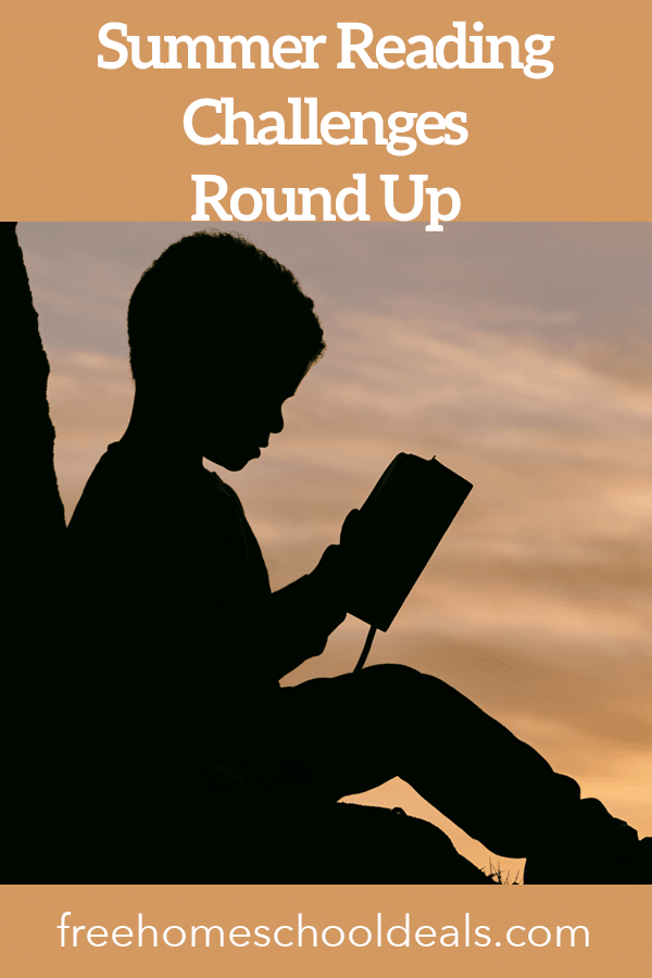 Avoid summer slide with these FREE Summer Reading Challenges 2020! #fhdhomeschoolers #freehomeschooldeals #summerreading #readingchallenges #hsmoms