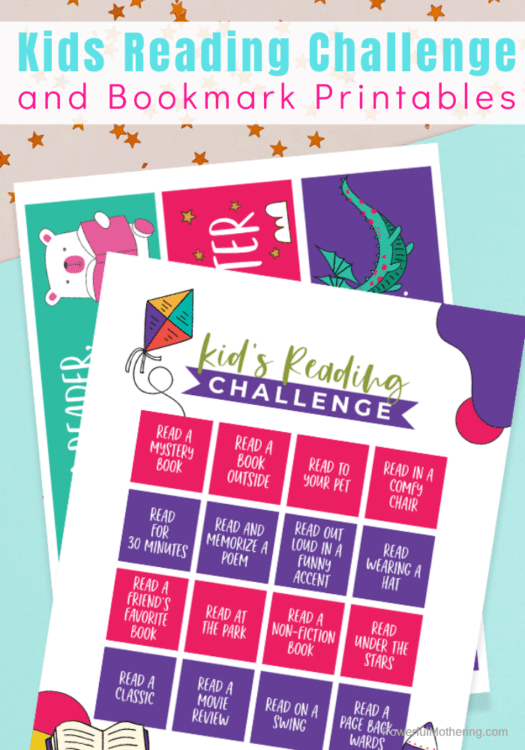 FREE Reading Challenge and Bookmark Printable. #freehomeschooldeals #fhdhomeschoolers #readingchallenge #bookmarkprintable #readingresources