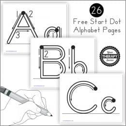 FREE Alphabet Handwriting Practice. #freehomeschooldeals #fhdhomeschoolers #alphabetpractice #alphabethandwriting #handwritingpractice