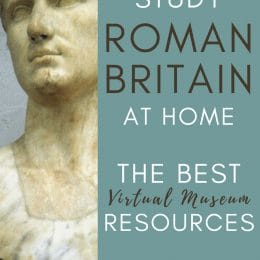 Take a museum field trip in your own home with this Virtual Museums: Roman Britain + Museum Journaling Pack! #fhdhomeschoolers #freehomeschooldeals #virtualmuseumtours #romanbritain #homeschoolhistory