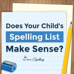 Have concerns about your child's spelling? Read Does Your Child's Spelling List Make Sense? #fhdhomeschoolers #freehomeschooldeals #allaboutspelling #spelling #hsmoms